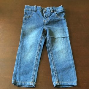 Baby Girl Carter's 18m Snap front Denim Jeans